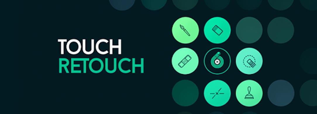 Aplicativo Touch Retouch para edições aprimoradas