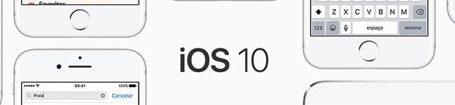 Novo sistema operacional IOS 10
