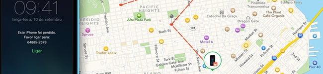 Histórico de Localização para iPhone