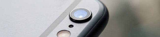 Recall da câmera de foto do iPhone 6 Plus