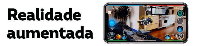 Realidade Aumentada e iPhones homologados