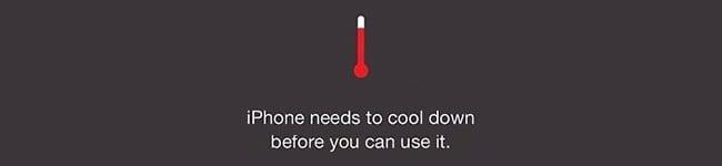 Alta Temperatura Ambiente iPhone